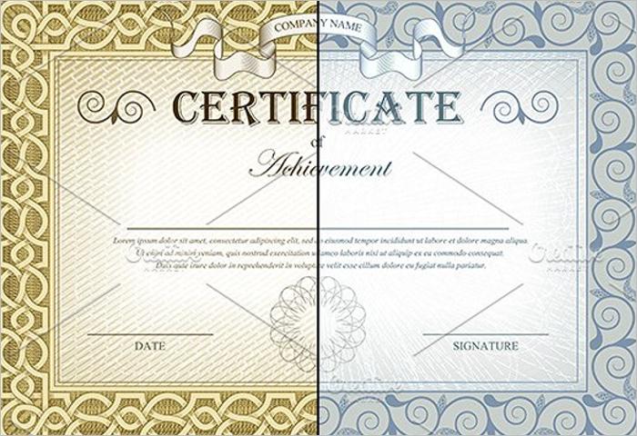 Stock Certificate Register Template