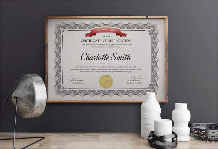 Stock Transfer Certificate Template