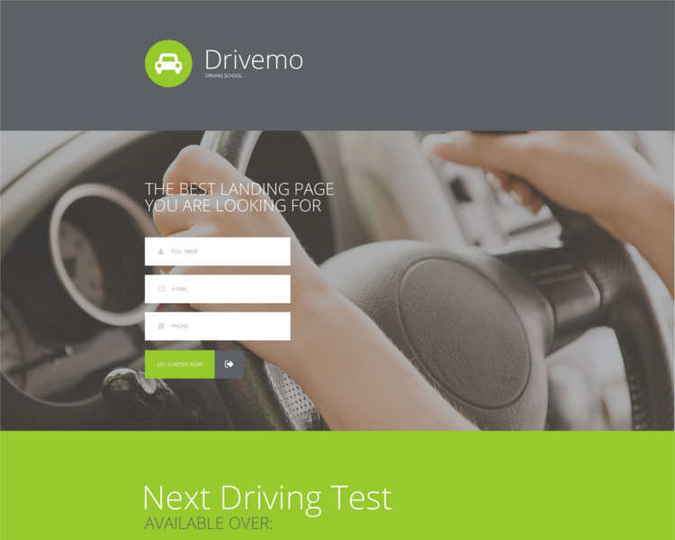 traffic-responsive-landing-page-template
