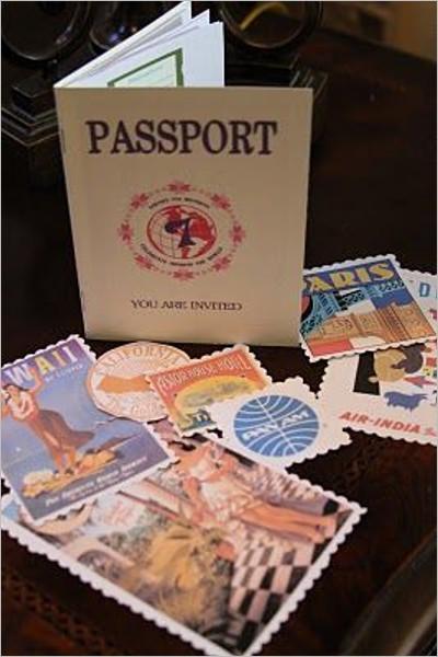 Traveler Passport Template