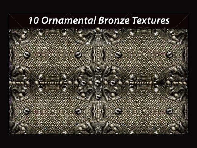 various-bronze-textures