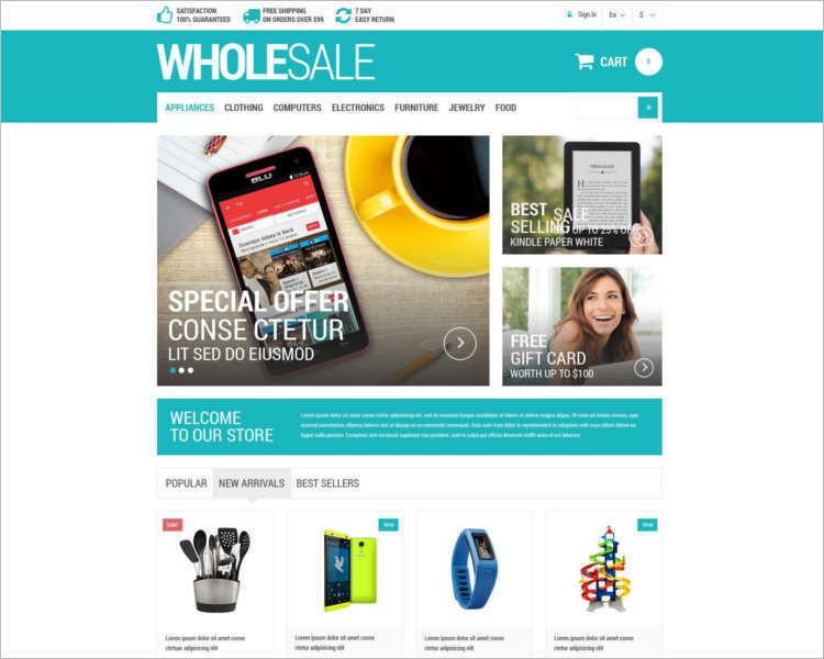wholesale-prestashop-theme-template