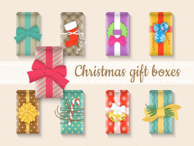 Wrapping Christmas Celebration present box