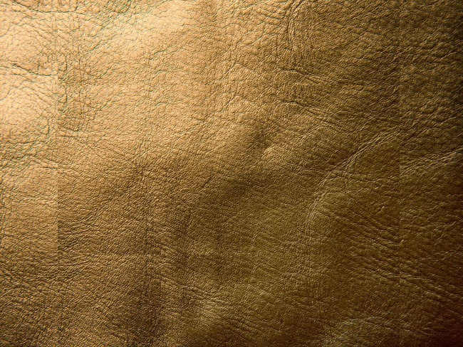 yellow-bronze-leather-texture