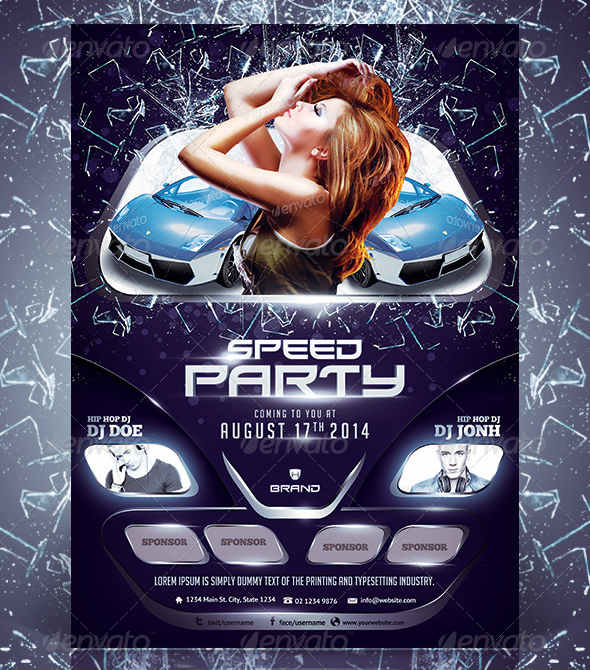 car_party_flyer_preview