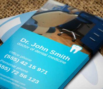 dental-visiting-card-theme-template