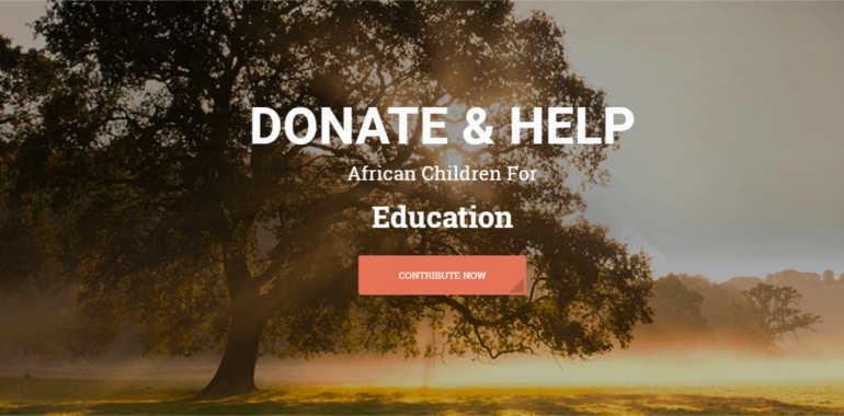 donate-help-html-template