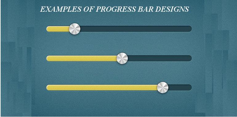 Progress Bar Designs