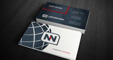 logistics-business-card-template