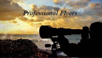 professional flyer