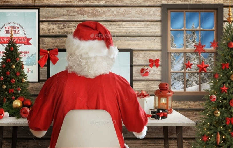 santa-claus-christmas-design-mock-up