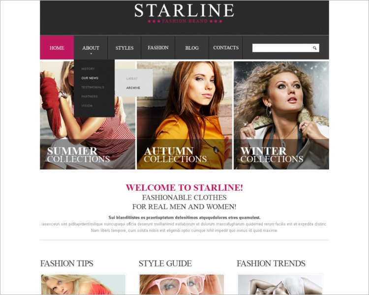 apparel-atarline-website-templates