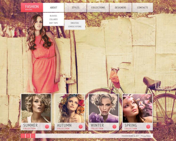 apparel-fashion-brand-website-templates