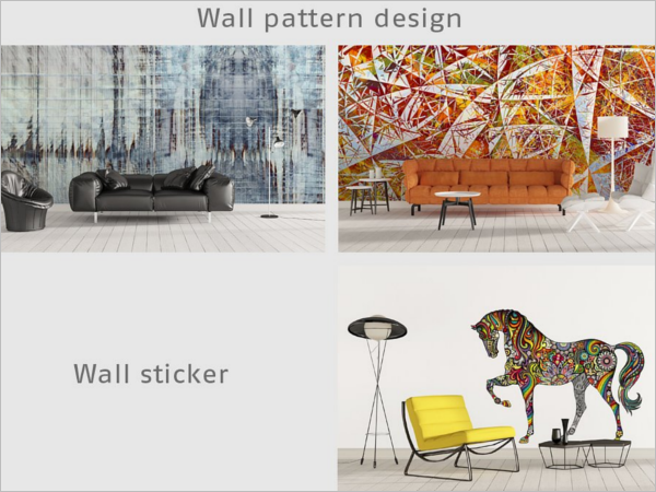 Art Wall Mockup Design Bundle