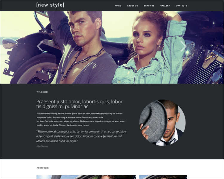 awesome-fashion-design-website-templates