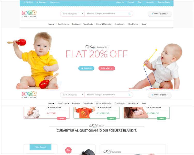 baby-store-wordpress-templates