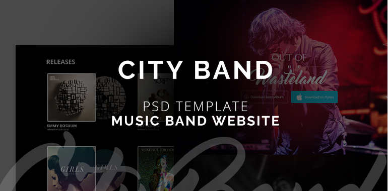 band-website-themes-templates