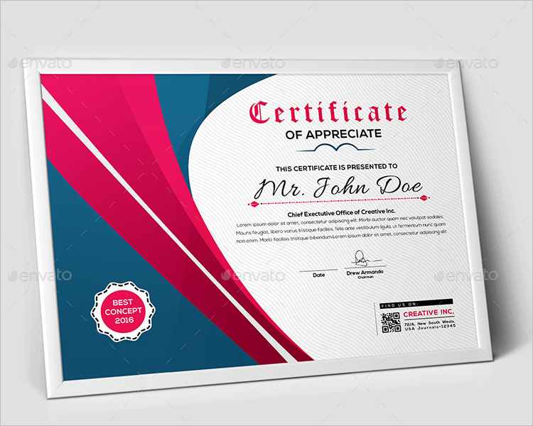 best-concept-certificate-templates