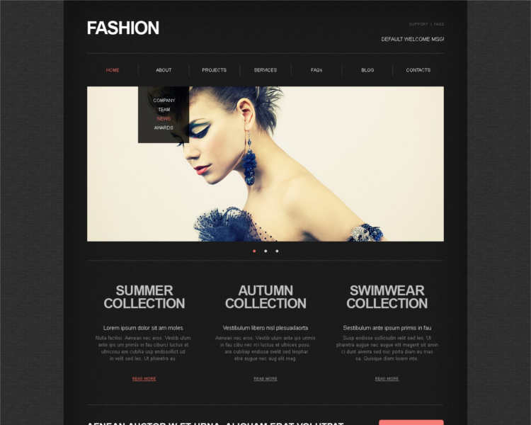 best-model-agency-website-templates