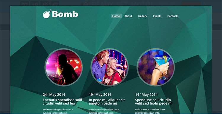 bombo-website-theme-templates