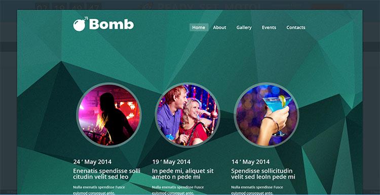 bombo-website-theme-templates