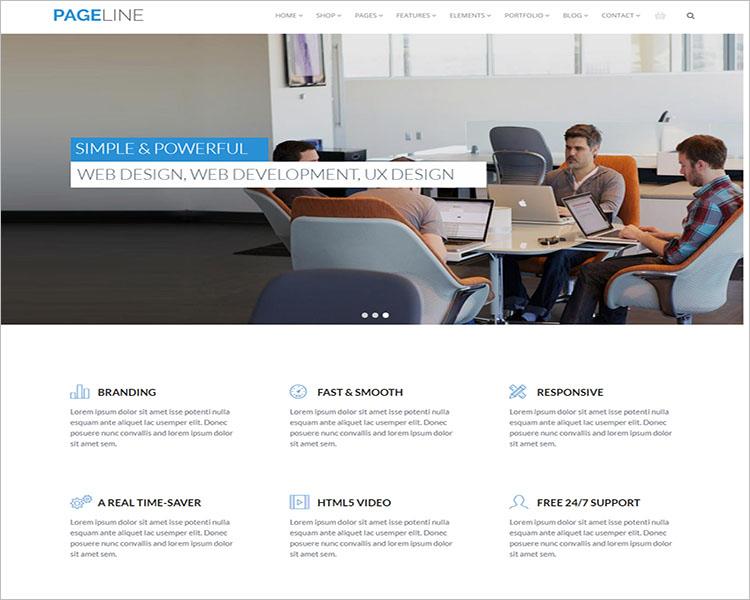 Bootstrap Based Multi-Purpose HTML5 Drupal Theme