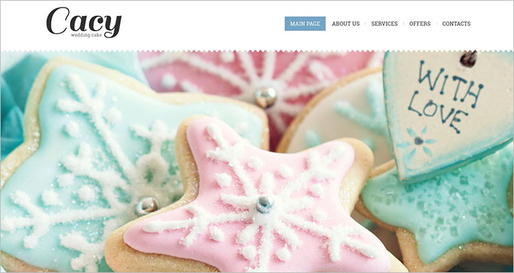 cacy-cake-website-theme-templates