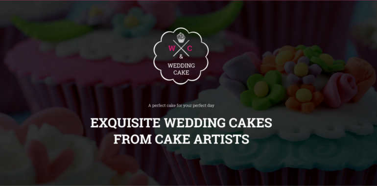 Cake Website Templates