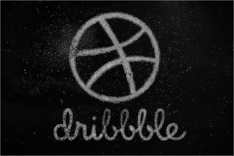 Chalkboard Logo Mockup Design