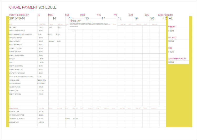 77+ Work Schedule Templates - Word, Excel, Pdf | Creative Template