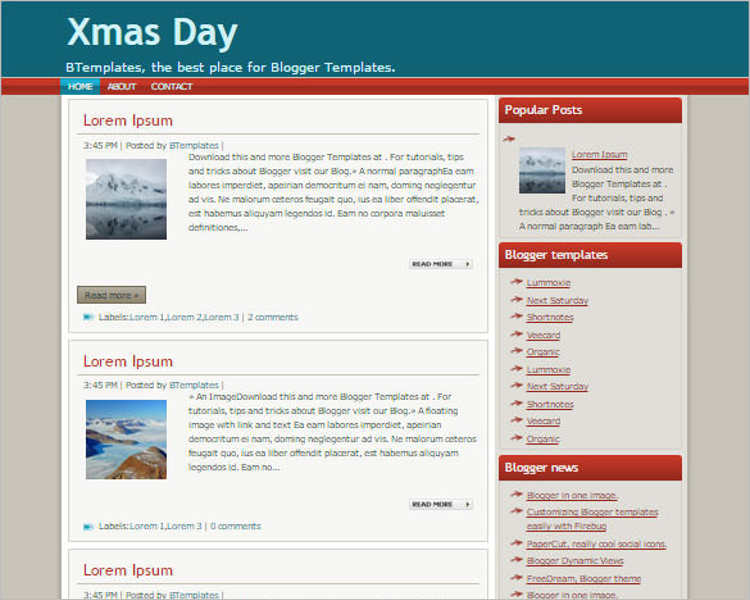 christmas-day-blogger-theme-templates