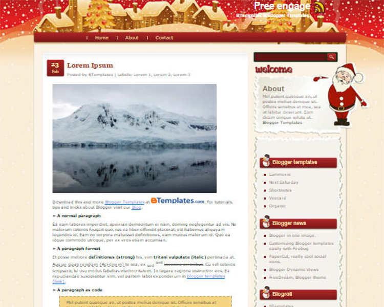 christmas-engage-blogger-theme-templates