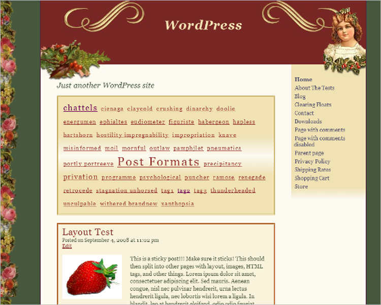 christmas-victorian-wordpress-theme-templates