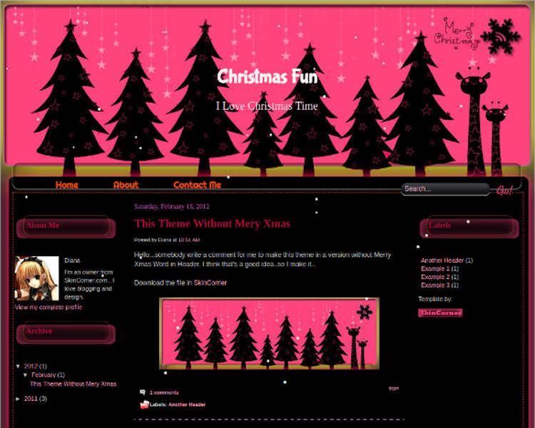 christnmas-fun-time-blogger-theme-templates