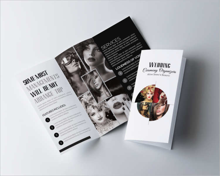 Fashion TriFold Brochure Templates  Free  Premium  Creative