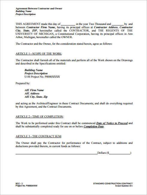 construction-agreement-between-owner-contractor-template