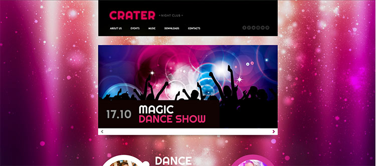 crater-night-club-website-theme-templates