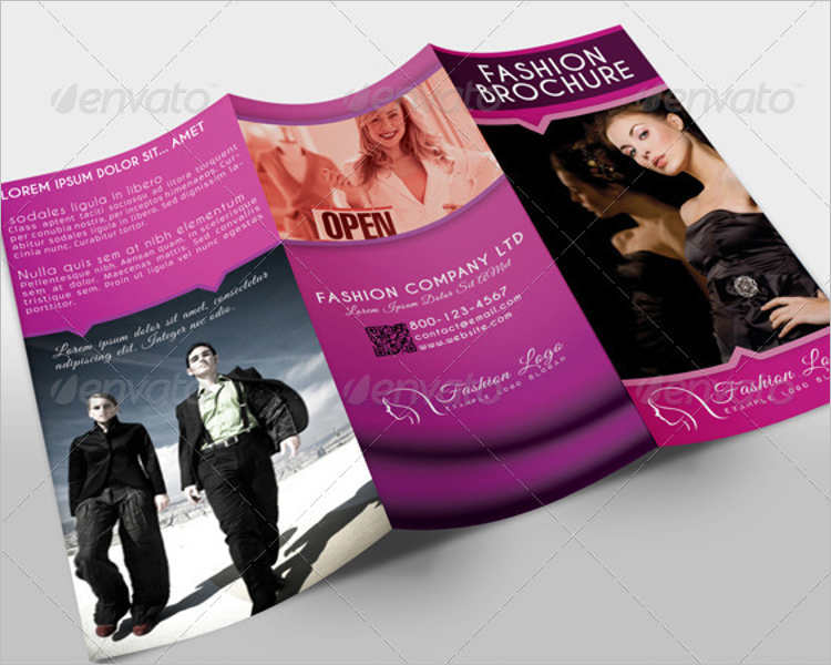 Fashion Tri-Fold Brochure Templates || Free & Premium | Creative