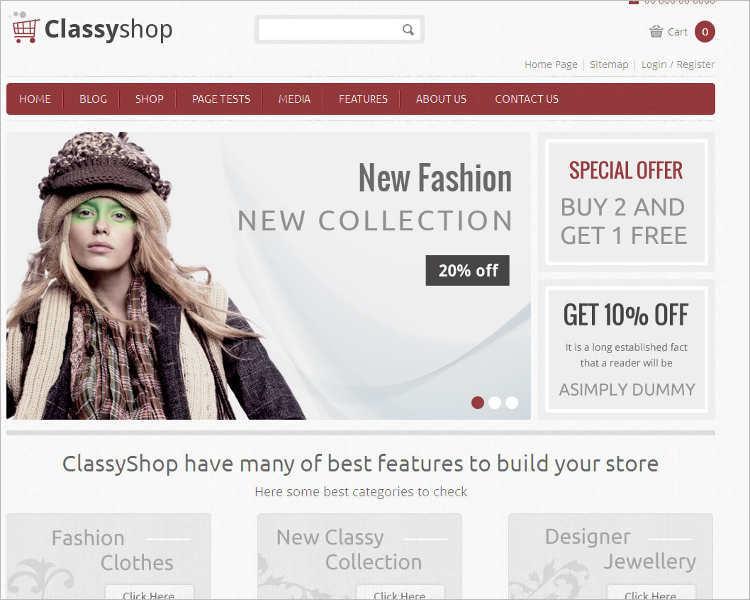 custom-classyshop-wordpress-templates