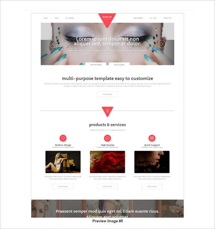 customize-women-fashion-website-templates