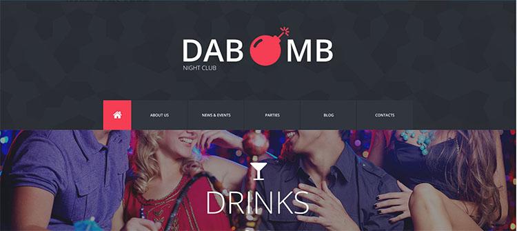 dabomb-night-club-website-theme-tempplate