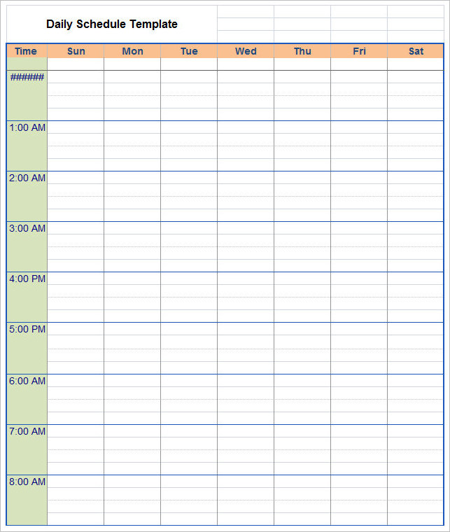 daily-schedule-template-word-form