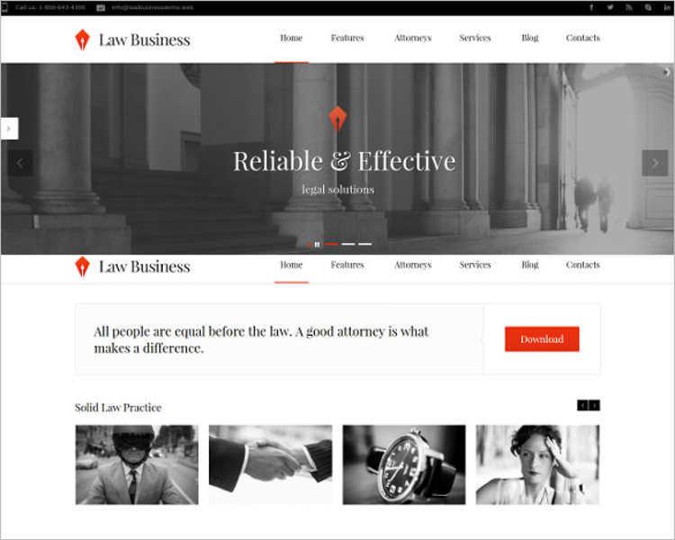 download-law-legal-wordpress-template