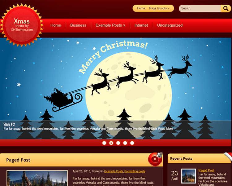 download-premium-christmas-wordpress-templates