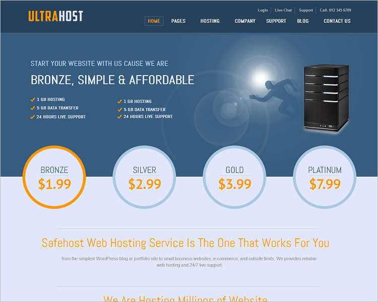 download-ultra-hostinh-joomla-templates