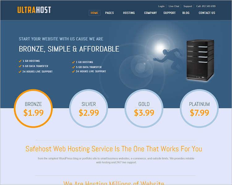 download-ultra-hostinh-joomla-templates