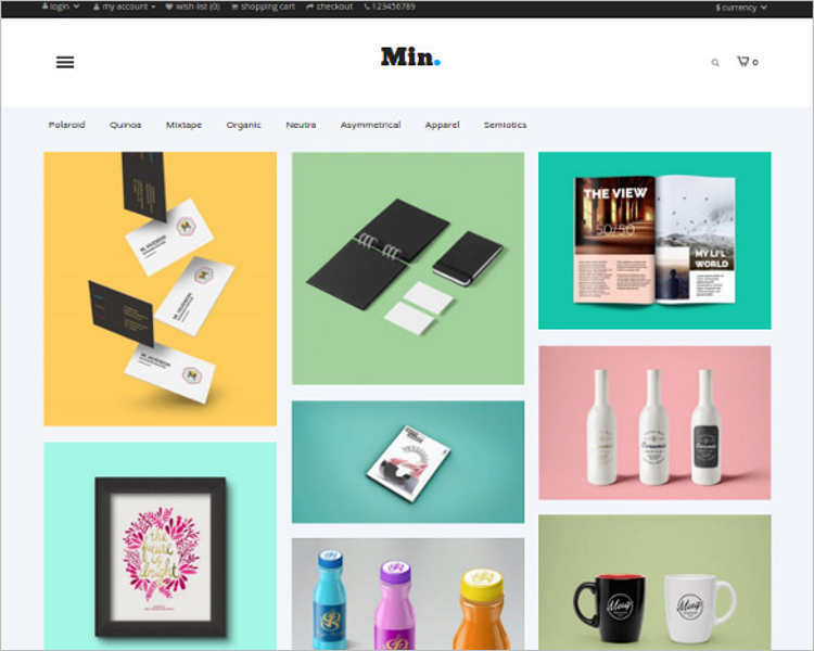 Php ecommerce website templates free premium for Php homepage template