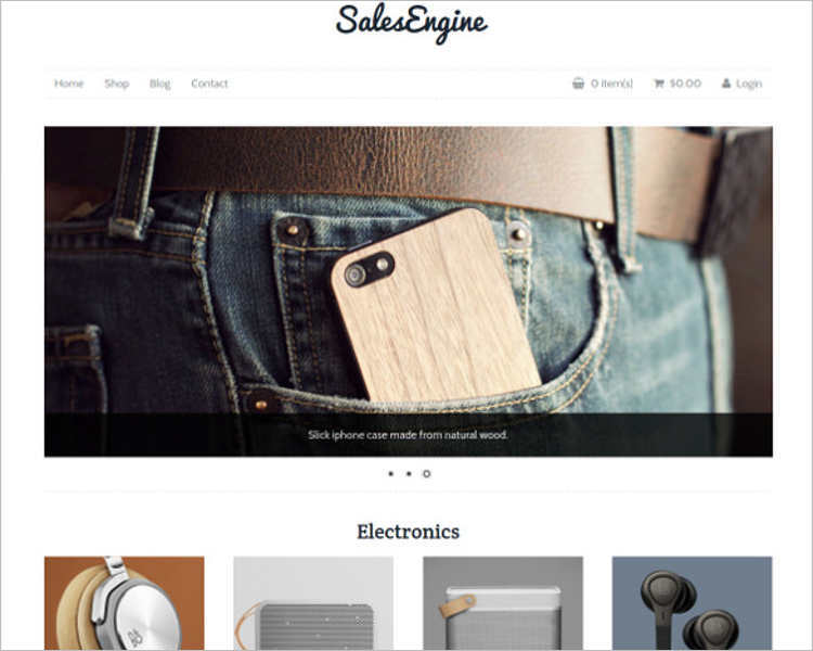 e-commerce-sales-engine-php-website-templates