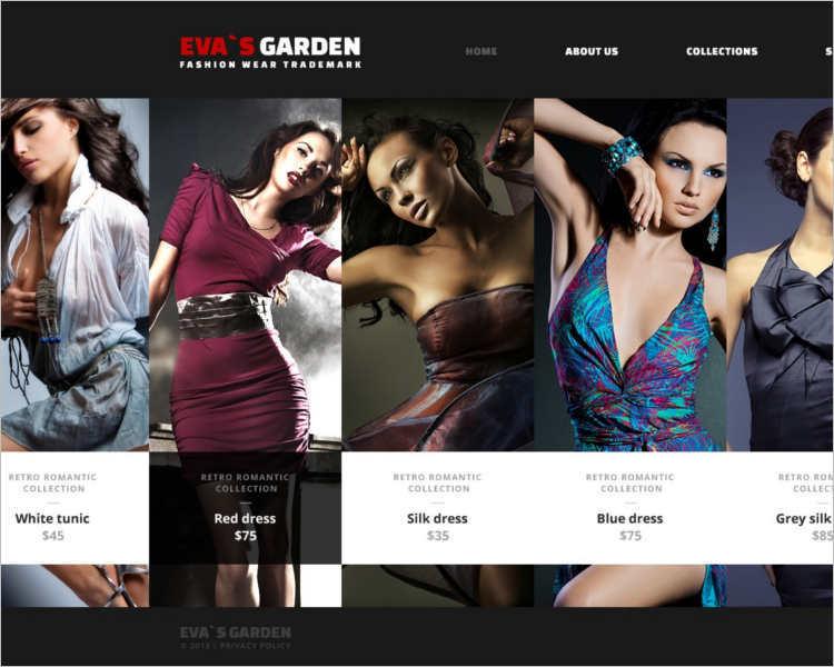 evas-fashion-design-wear-website-templates
