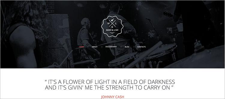 event-music-website-theme-templates